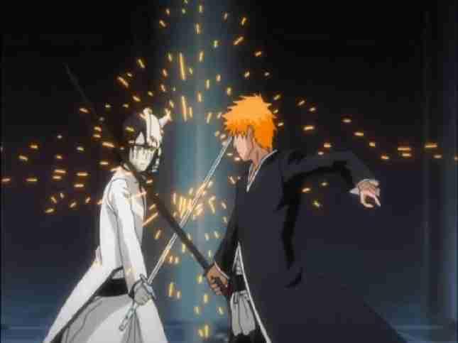 Ichigo Fighting Ulqiorra Episode 226