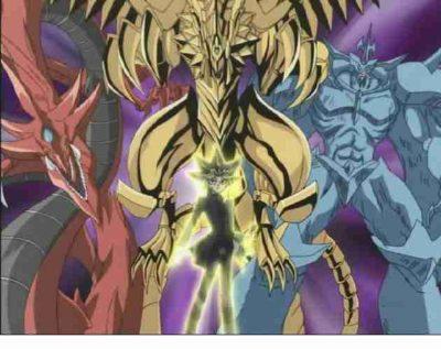 Yugioh all Egyption God Cardd