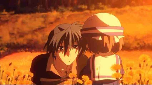 Awesome Anime Music Tomoya and Ushio have a heart to heart
