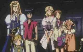 Escaflowne all main characters
