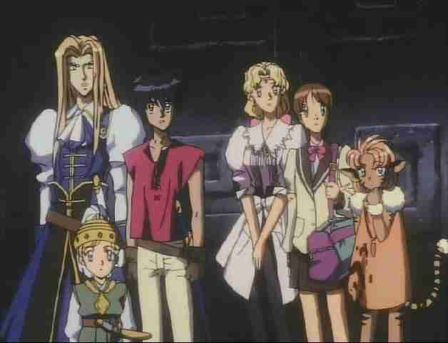 Escaflowne all main characters