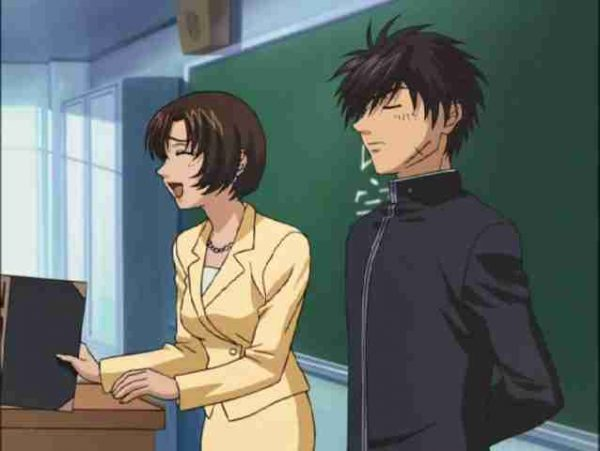 Full Metal Panic Souske first day in Highschool