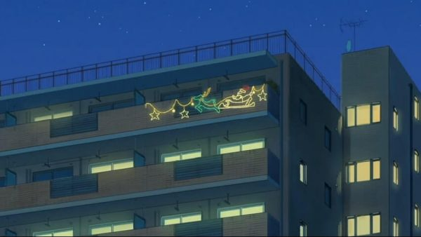 Decorations on the balcony. Episode 10 at 18 mins 54 seconds