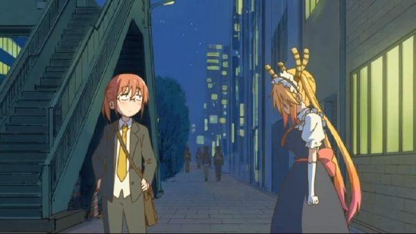 Kobayashi talks with Tooru episode 5