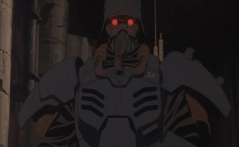 Kazuki Fuse wearing his combat armor