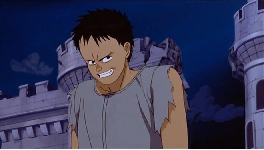 Tetsuo fighting with Shoutarou