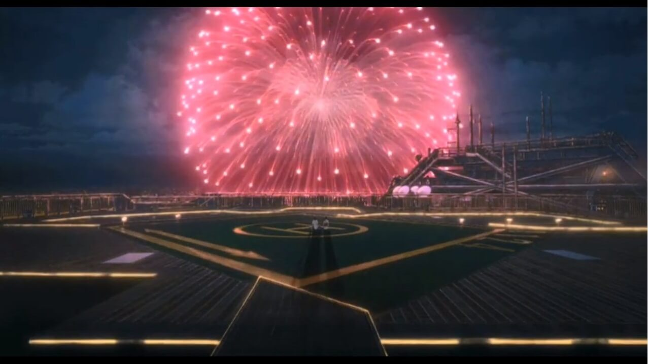 Weathering With Your Fire Works Scene