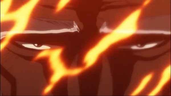Yamamoto Enraged Bleach Episode 294 at 5min 49 sec