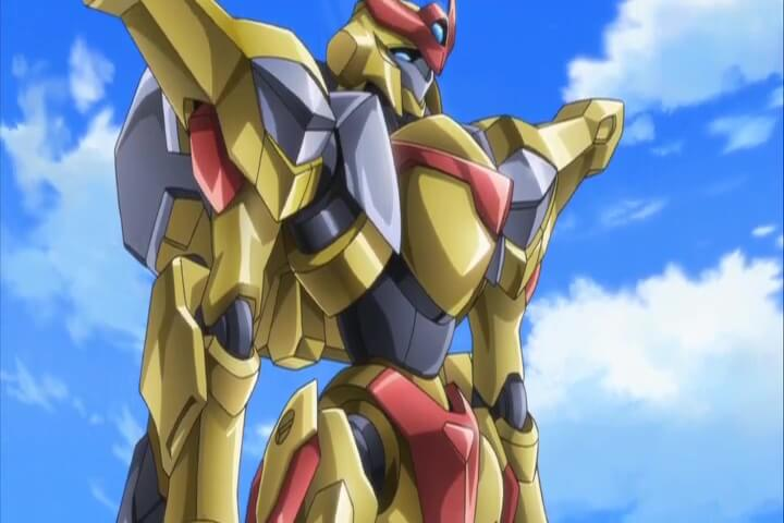 The Vincent on Standby. Code Geass R2 Episod 4 At 10m 55s