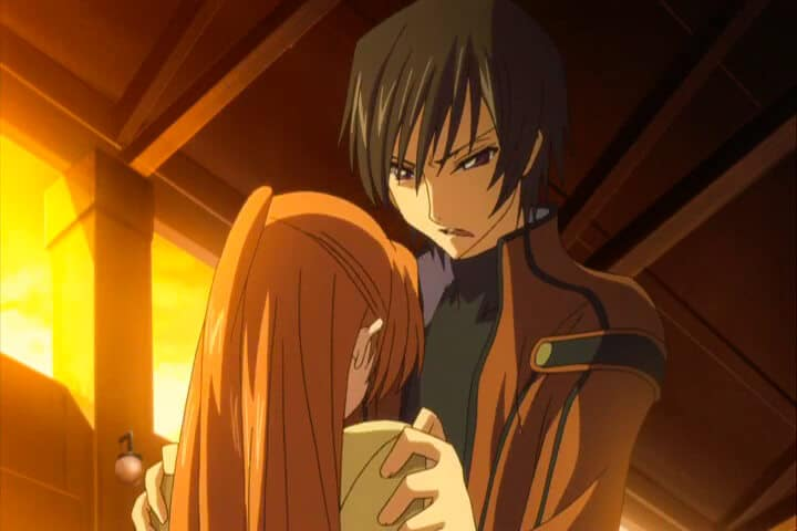 Lelouch erasing Shirley's Memories. Code Geass R1 Stage 14.m4v At 20m 10s