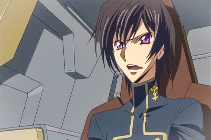 Lelouch working with Cornelia to defeat V.V. Code Geass R2 Turn 14 At 18m 27s