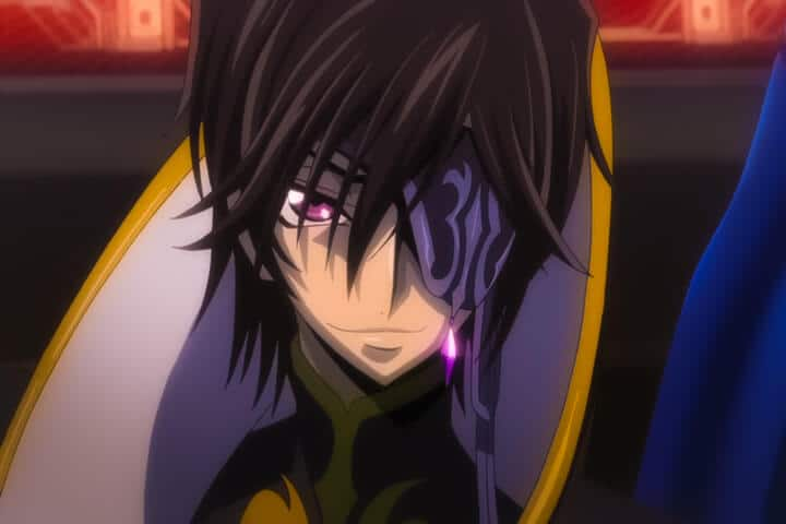 Lelouch as Julius Kingsley Code Geass Akito the Exiled OVA 3 at 40m 30s