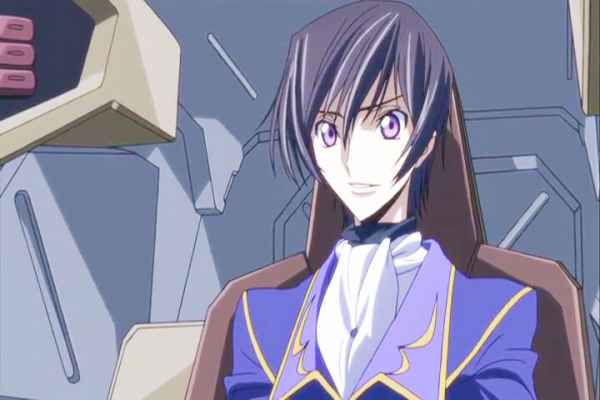 Lelouch learning that Sayako has located Nunnally. Code Geass R2 Turn 18 At 18m 08s