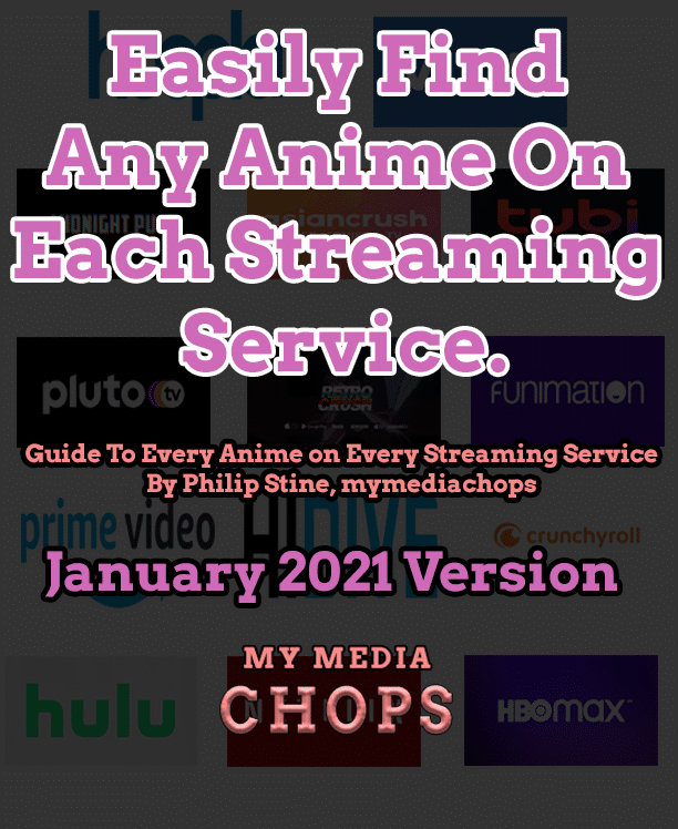 Anime Streaming Guide Cover