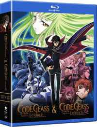 Code Geass Blu-ray Collection