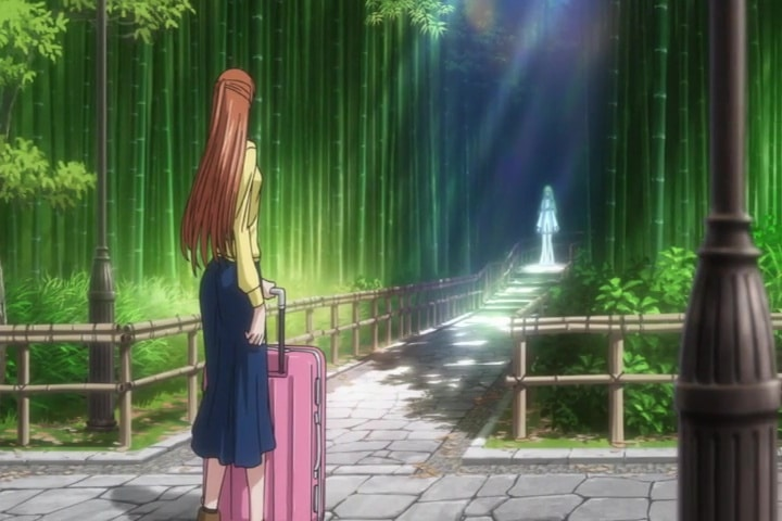Shirley meeting C.C. for the first time. Code Geass Lelouch of the Rebellion III - Glorification At 1h 21m 35s
