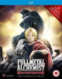 Fullmetal Alchemist Brotherhood Blu-ray