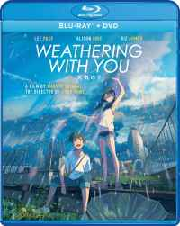 Weathering with Blu-ray cover