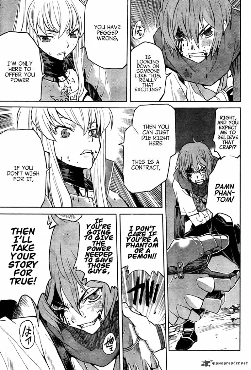 Renya meeting C.C. for the first time. Code Geass Renya of Darkness Vol 1 Chapter 1